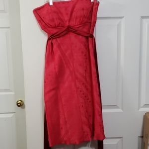 Red dress size 10 Lyndia